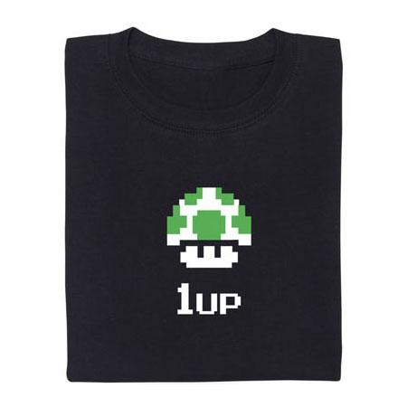 1UP Pilz T-Shirt von Nintedo