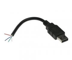 Abgerissenes USB-Kabel als USB Stick