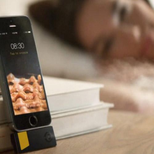 Bacon-Wecker fürs iPhone - aufwachen mit Fleischduft