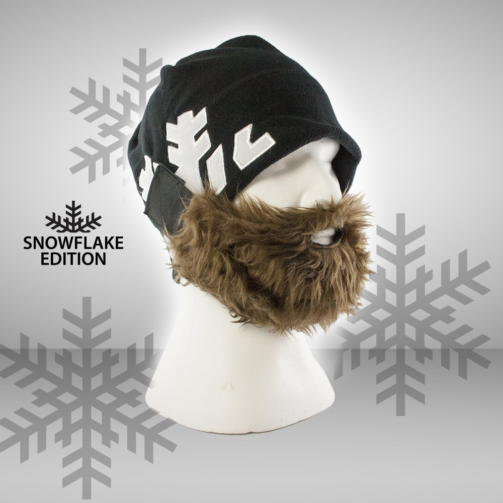 Bart-Mütze für kalte Wintertage
