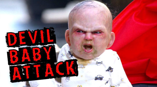 Devil's Due Teufelsbrut – Devil Baby Attack Video