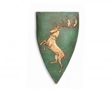Game of Thrones Brosche Baratheon Wappen-Hirsch