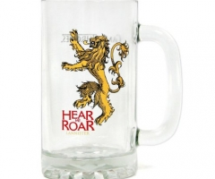 Game of Thrones Glas-Bierkrug Hear Me Roar