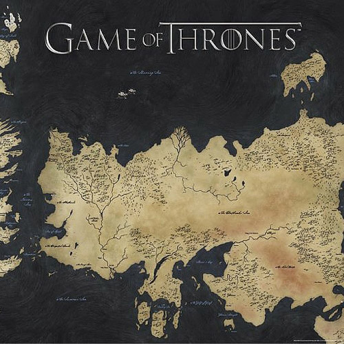 Game of Thrones Poster: Die sieben Königreiche