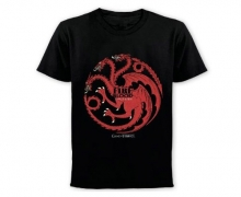 Game of Thrones T-Shirt Fire and Blood (Targaryen)