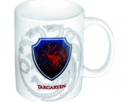 Game of Thrones Tasse Wappen Targaryen