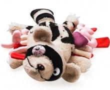 Überfahrene Stofftiere von Roadkill Toys im Leichensack mit Todesurkunde für Plüschtier-Geeks