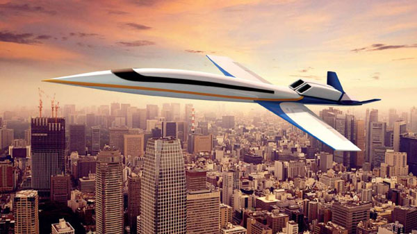 Spike S-512 Supersonic Business Jet