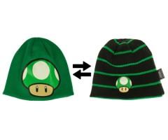Super Mario 1UP Pilz 2in1 Wendemütze