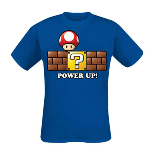Super Mario Bros. T-Shirt Power Up