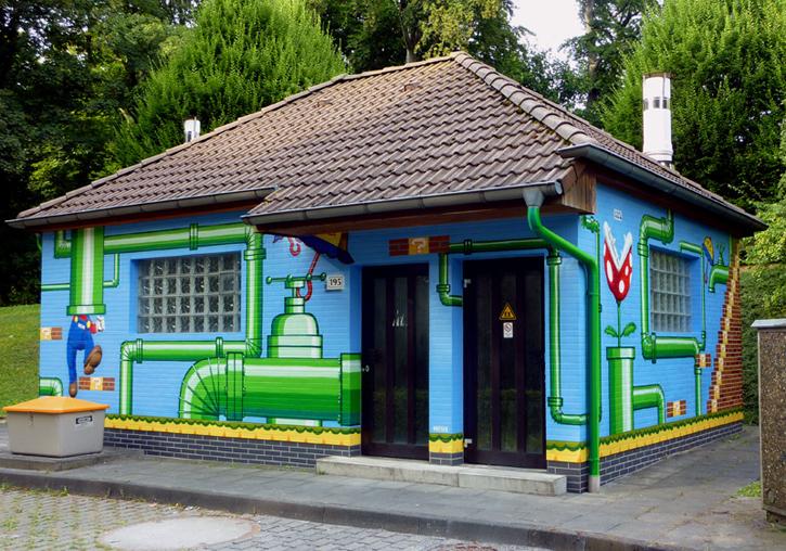 Super Mario Graffiti von MEGX in Wuppertal