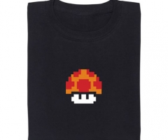 Super Mario Magic Mushroom Grow Up T-Shirt