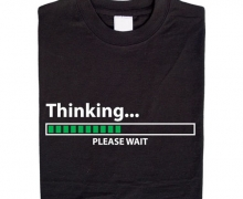Thinking… please wait T-Shirt