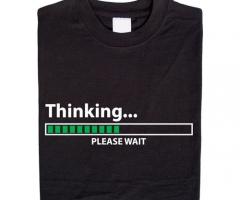Thinking… please wait T-Shirt