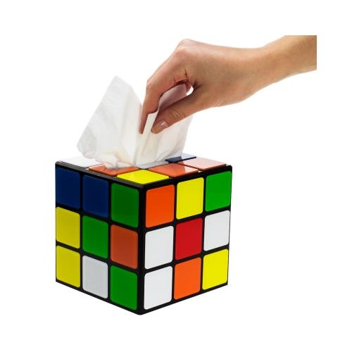 Zauberwürfel Taschentuchbox aus The Big Bang Theory