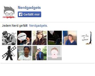 Nerdgadgets auf Facebook
